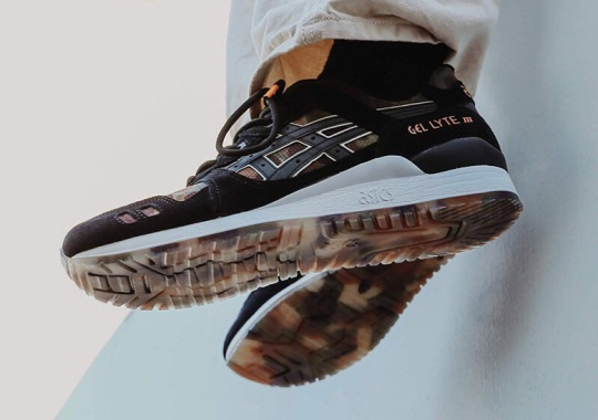 "ASICS GEL-Lyte III ""NEXKIN"" Highlighted By Cloudy Camo Prints"