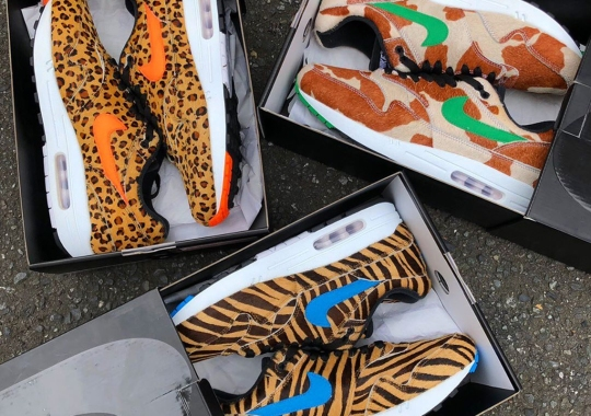"atmos x Nike Air Max 1 ""Animal Pack 3.0"" Releases On July 13th"