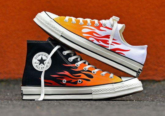 Converse Re-ignites The Flames Archive Pattern On The Chuck 70