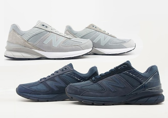 Engineered Garments And New Balance Bring The Asymmetric Aesthetic To The 990v5