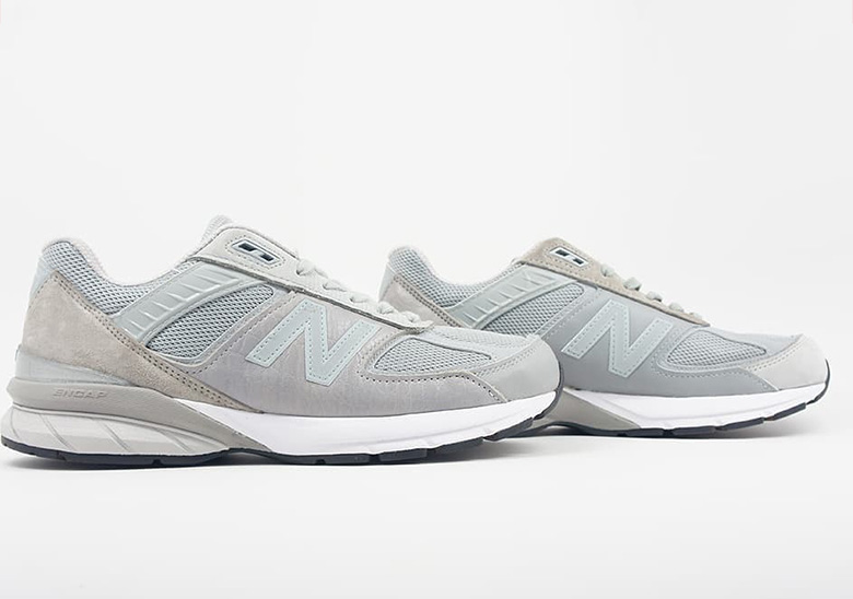 online store 474e3 cad12 Engineered Garments New Balance 990v5 Black Grey Navy ...