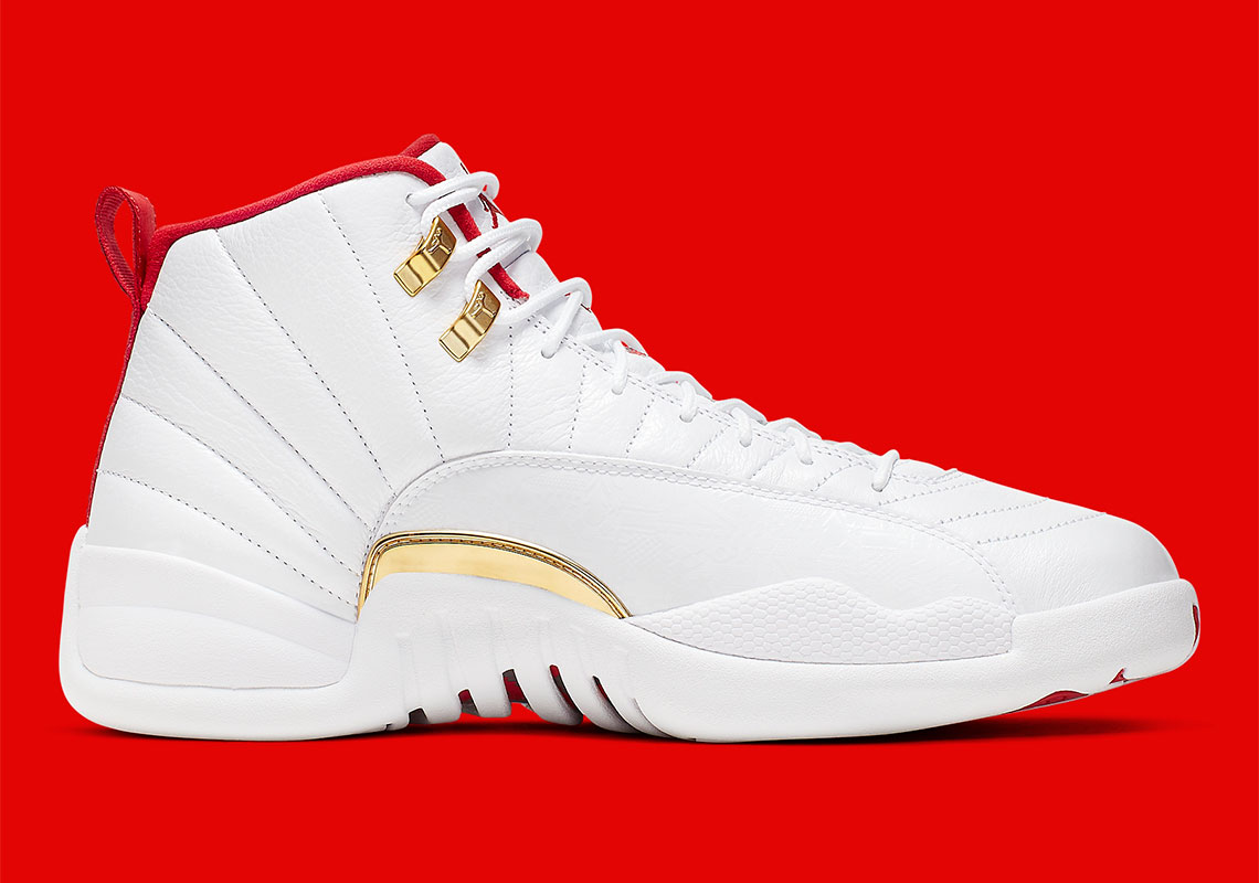 Air Jordan 12 FIBA 130690-107 Release