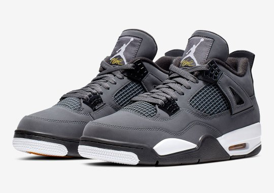 "Air Jordan 4 ""Cool Grey"" Releases On August 1st"