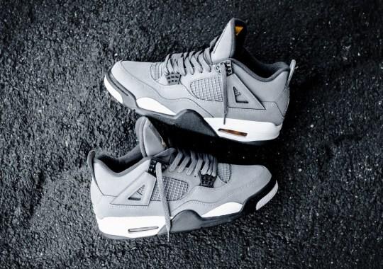 """The Air Jordan 4 """"Cool Grey"""" Releases Tomorrow"""
