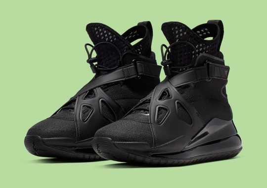 """size 40 38aea 0cd12 The Jordan Air Latitude 720 """"Triple Black"""" Is Hitting Stores Right Now"""