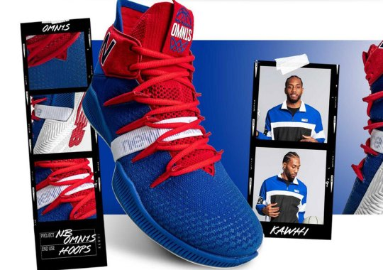 "New Balance Celebrates Kawhi Leonard's Move To The Clippers With The OMN1S ""Return Of The Fun Guy"""