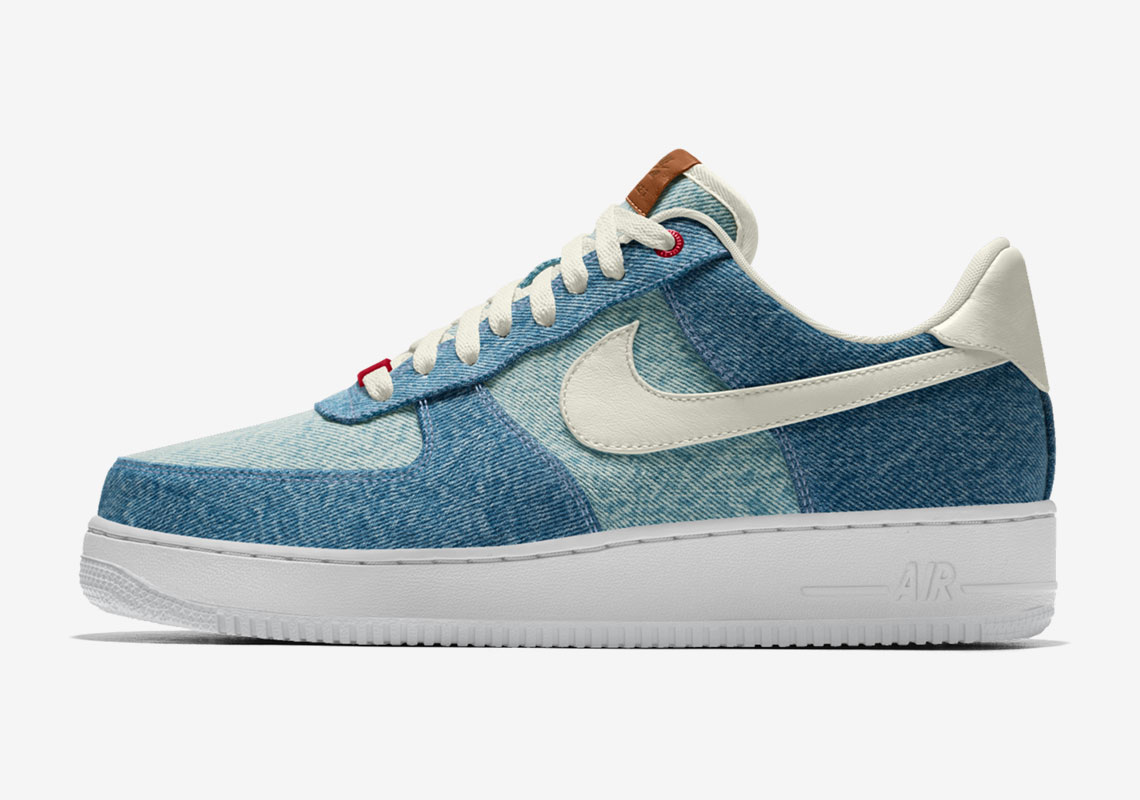 mil Es barato Consejo  Levi's Nike By You Air Force 1 - Available Now | SneakerNews.com