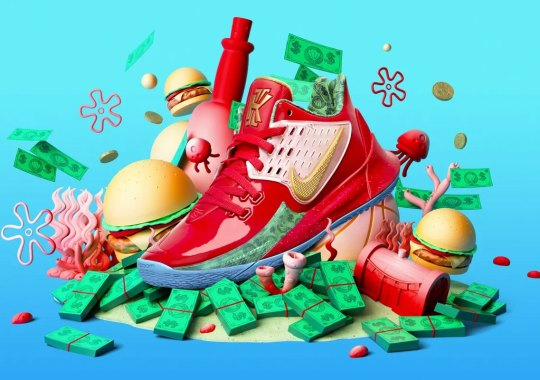"The Nike Kyrie Low 2 ""Mr. Krabs"" Gives Away The Secret Formula On August 10th"