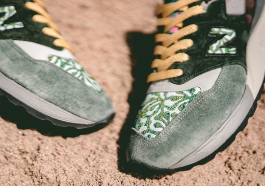 New Balance Applies A Plethora Of Earthy Patterns On The 998