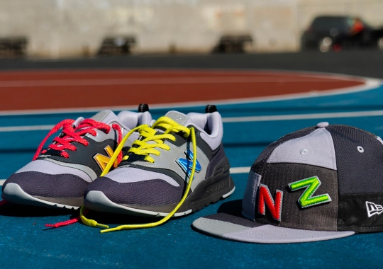 New Era 59FIFTY And New Balance Collaborate On A Customizable 997H Pack