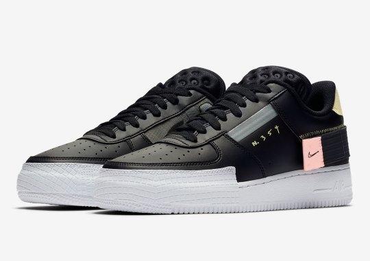 Nike's Experimental N.354 AF1 Type Is Releasing In Black