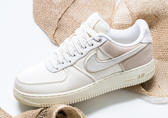 Elegant Ivory And Cream Tones Appear On The Nike Air Force 1