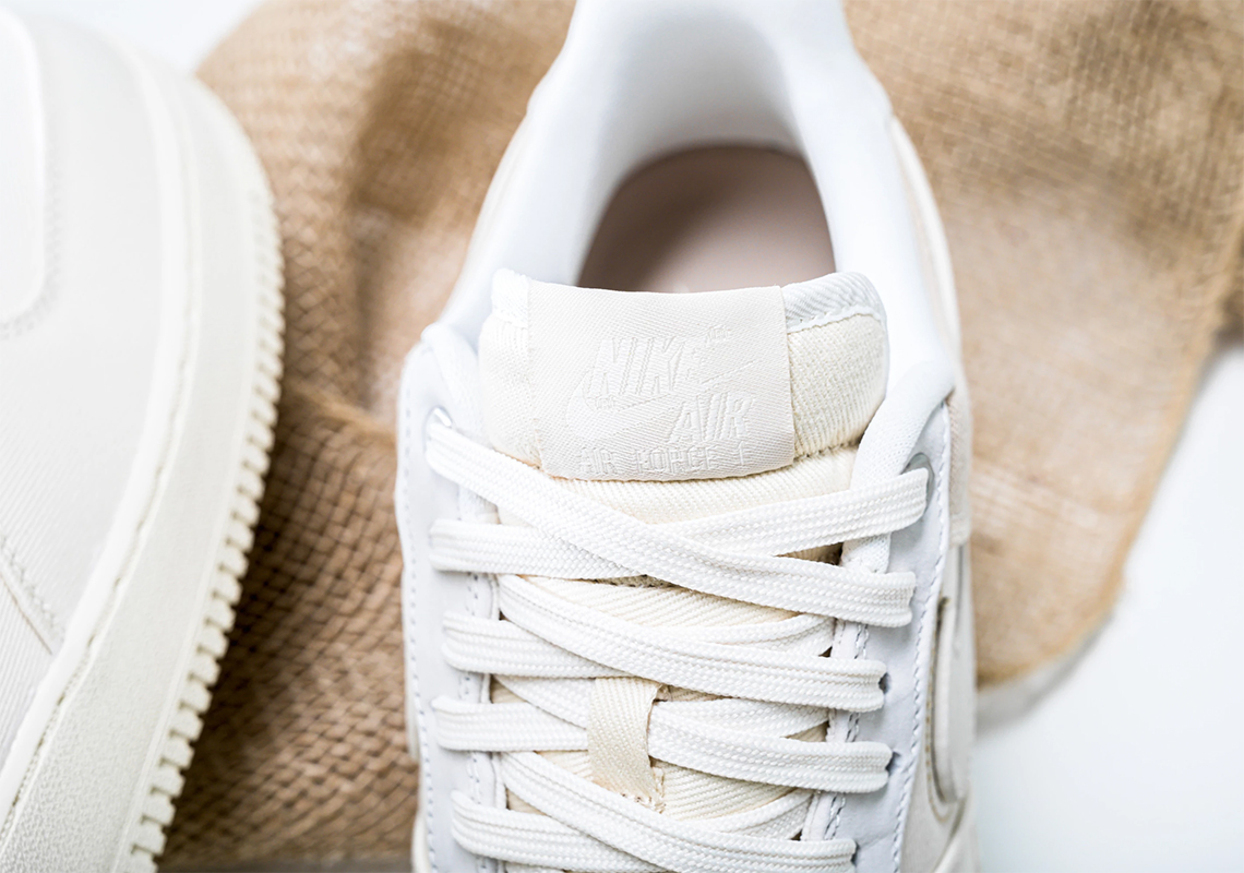 Nike Air Force 1 PRM Pale Ivory CI1116 100 Release Date Info