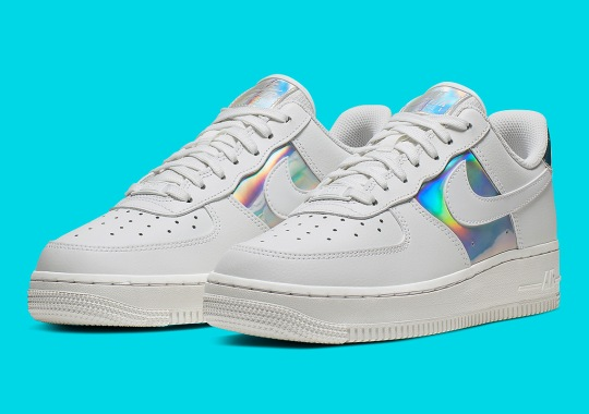Nike Adds Iridescent Touches To This Women's Air Force 1 Low