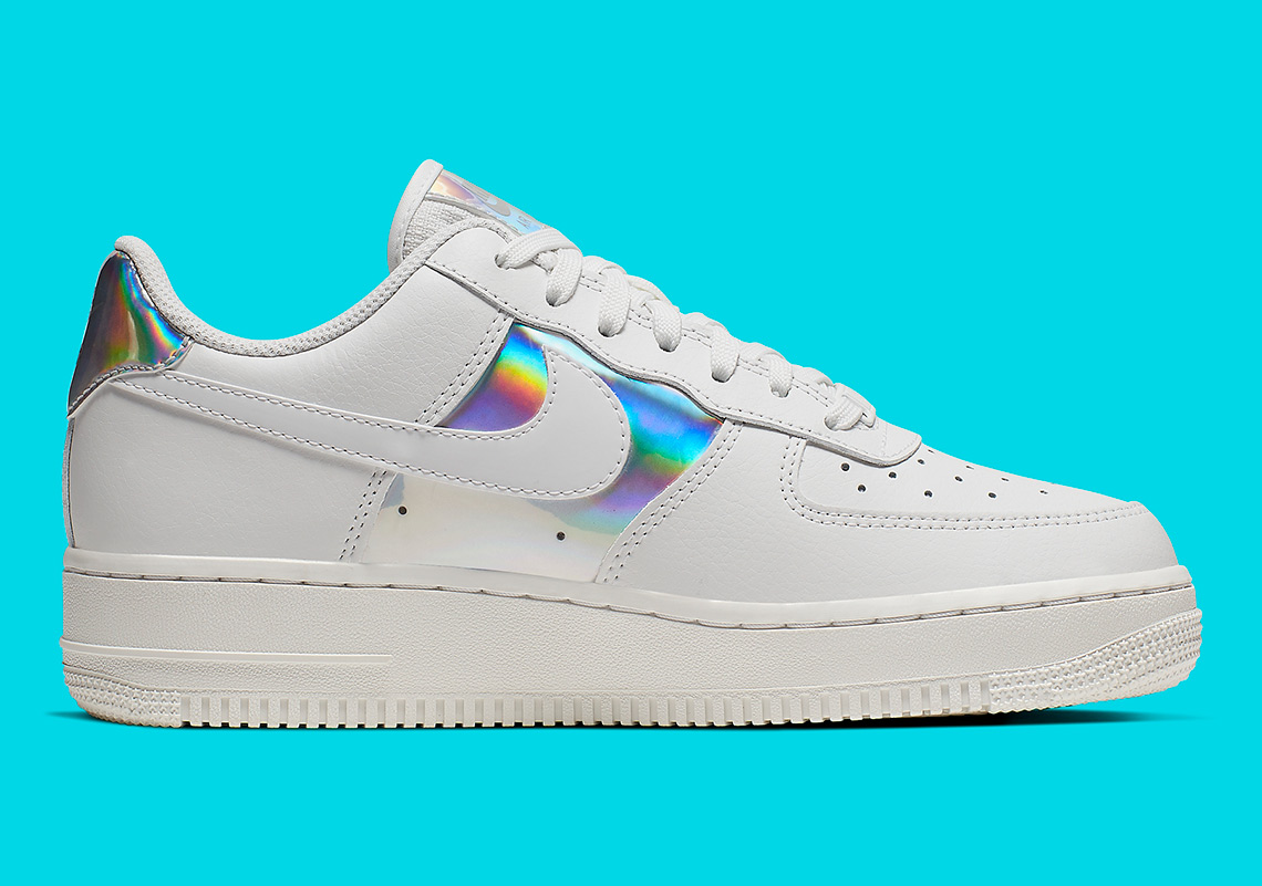 new product 0d9d7 a8c26 Nike Air Force 1 Low Iridescent Womens CJ9704-100 ...