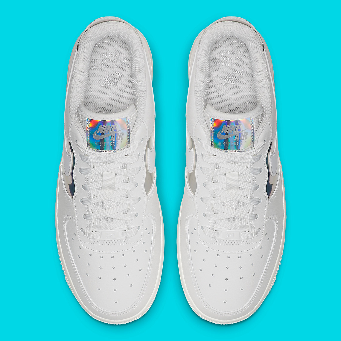 Nike Air Force 1 Low 'Iridescent Silver' | CJ9704 100