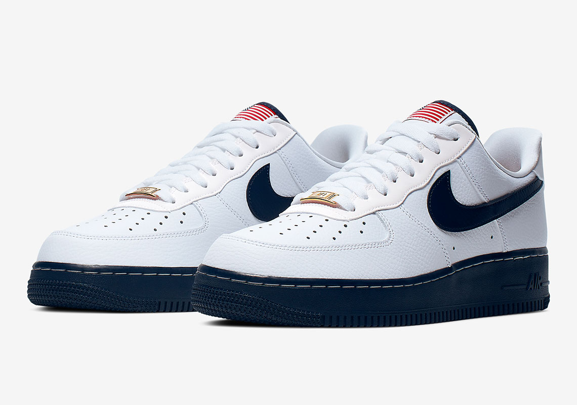 finest selection 3f666 4b84d Nike Air Force 1 USA Flag CK5718-100 | SneakerNews.com