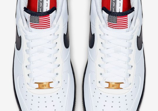 Nike Releases An Air Force 1 Low With The American Flag