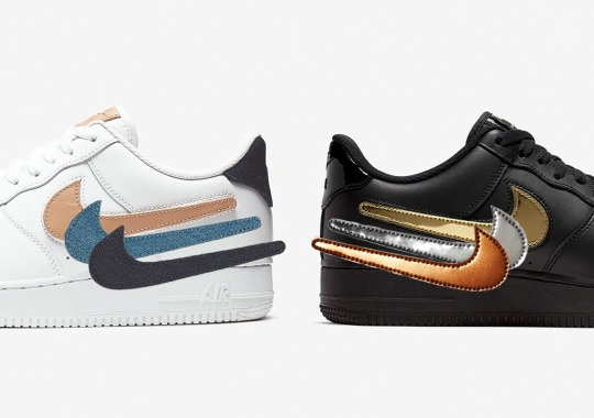 Nike Drops The Air Force 1 Low With Removable Swooshes