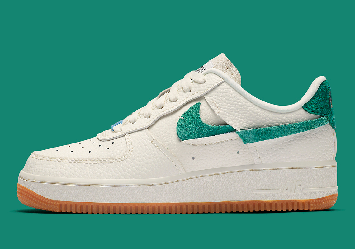 Nike Air Force 1 Vandalized Sail Green Blue BV0740 100