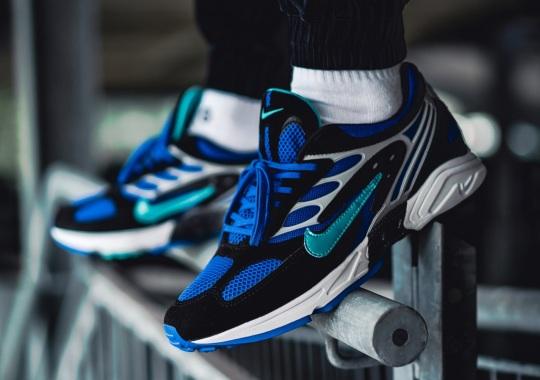 The Nike Air Ghost Racer Retro Introduces A Royal And Aqua Colorway