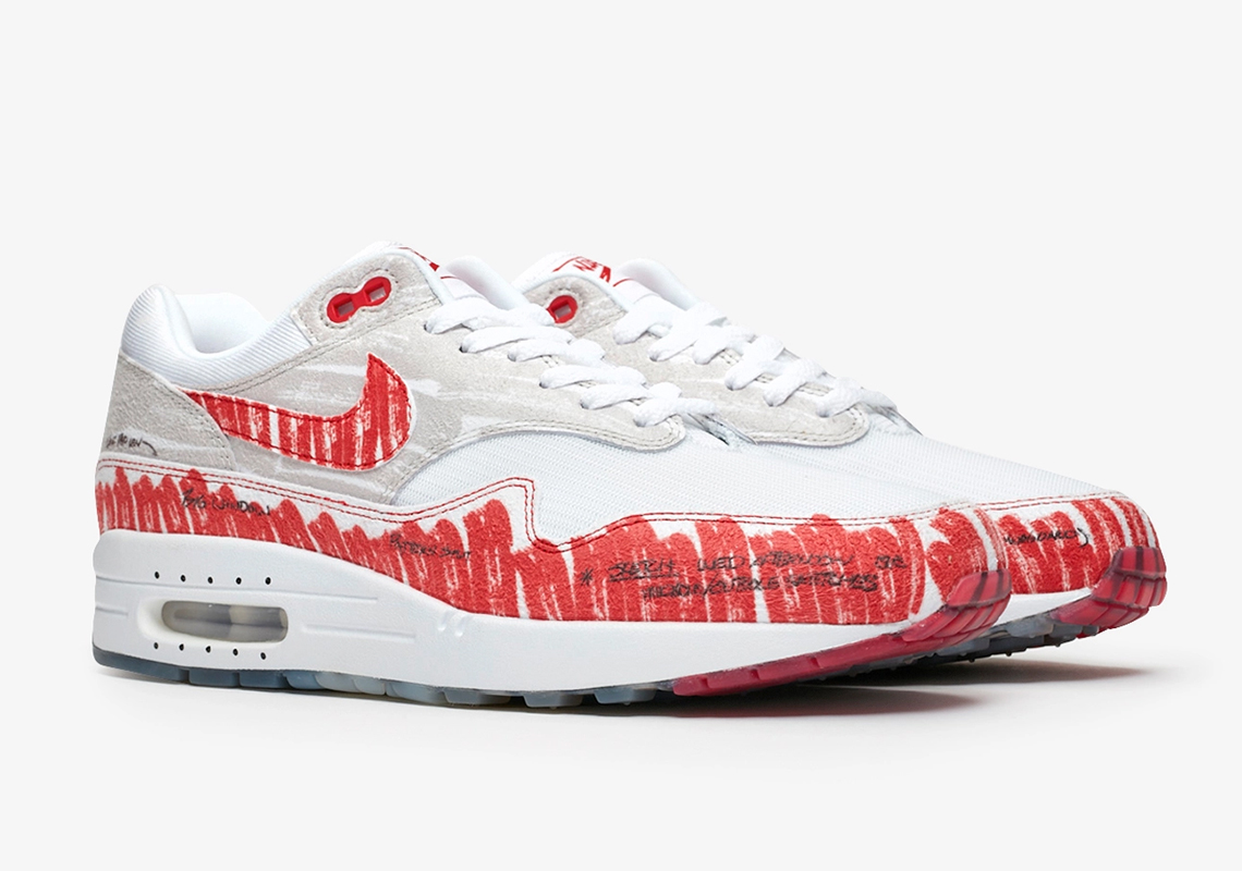 Nike Air Max 1 Sketch To Shelf CJ4286-101 Store List | SneakerNews.com