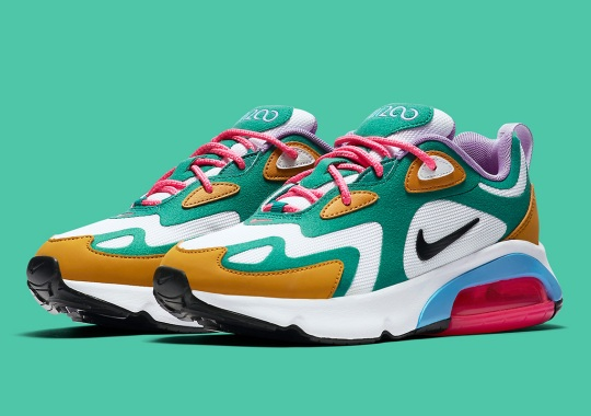 """The Nike Air Max 200 """"Mystic Green"""" Launches On July 19th"""
