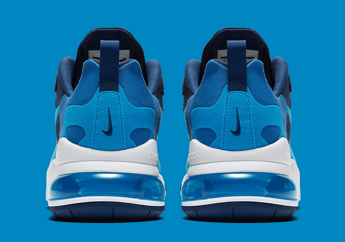 nike air max 270 react blue void ao4971 400 1
