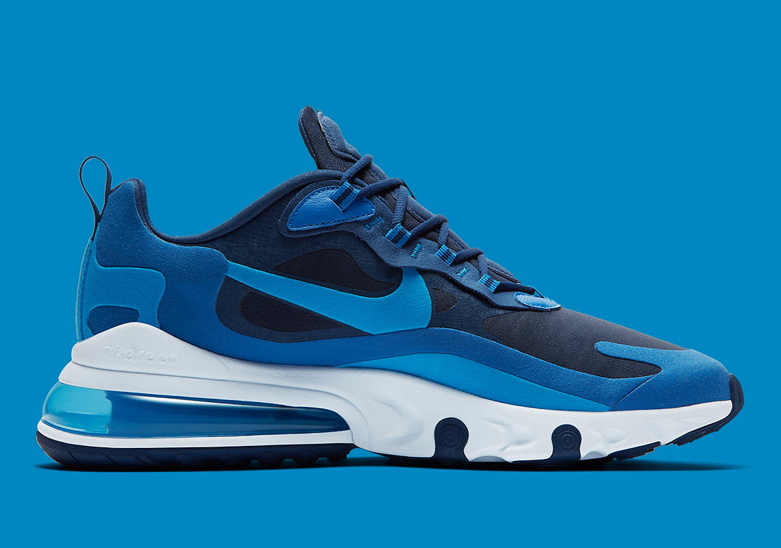 Nike Air Max 270 React Blue Void Ao4971 400 Release Date
