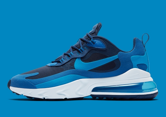 """The Nike Air Max 270 React """"Blue Void"""" Arrives On August 2nd"""