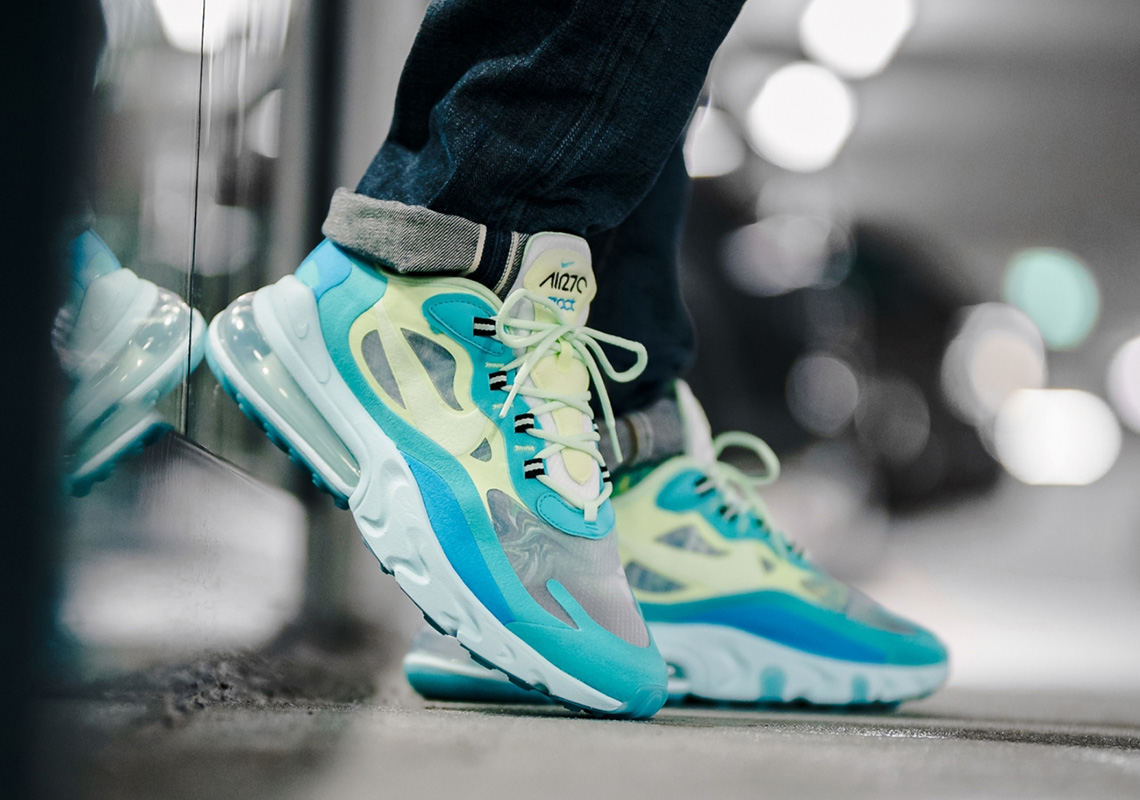 f842fb3c0 Nike Air Max 270 React Electro Green AO4971-301 Store List ...