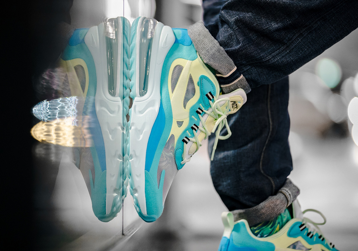 Nike Air Max 270 React Electro Green AO4971 301 Store List