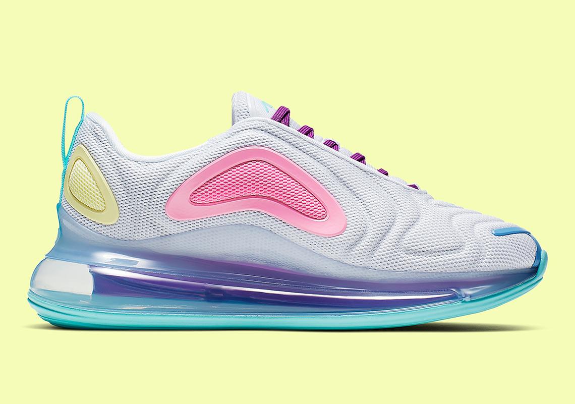 Nike Air Max 720 Set To Drop In Eye-Catching Pastel Colorway