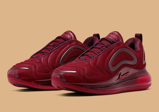"""Nike Air Max 720 """"Team Red"""" Is Available Now"""