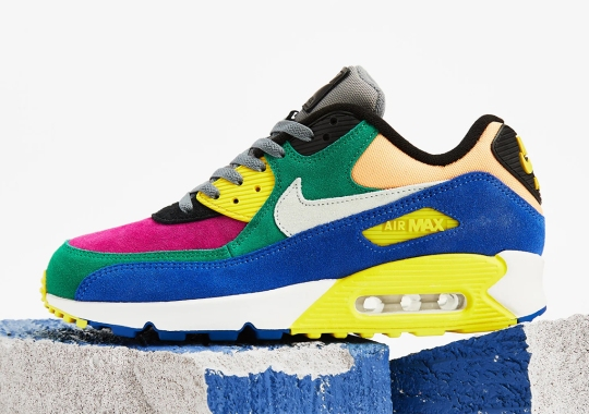 "Nike Air Max 90 QS Revives The Classic ""Viotech"" Look"
