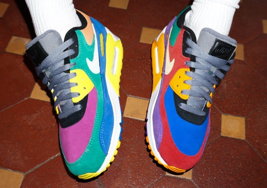 """The Nike Air Max 90 """"Viotech"""" Will Feature The Original Colors"""
