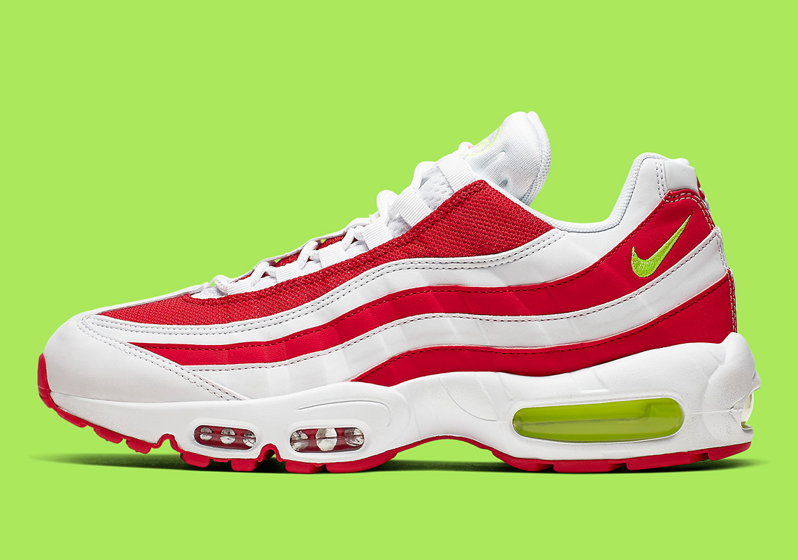 Nike Air Max 95 Red White CQ3644 171 Release Info