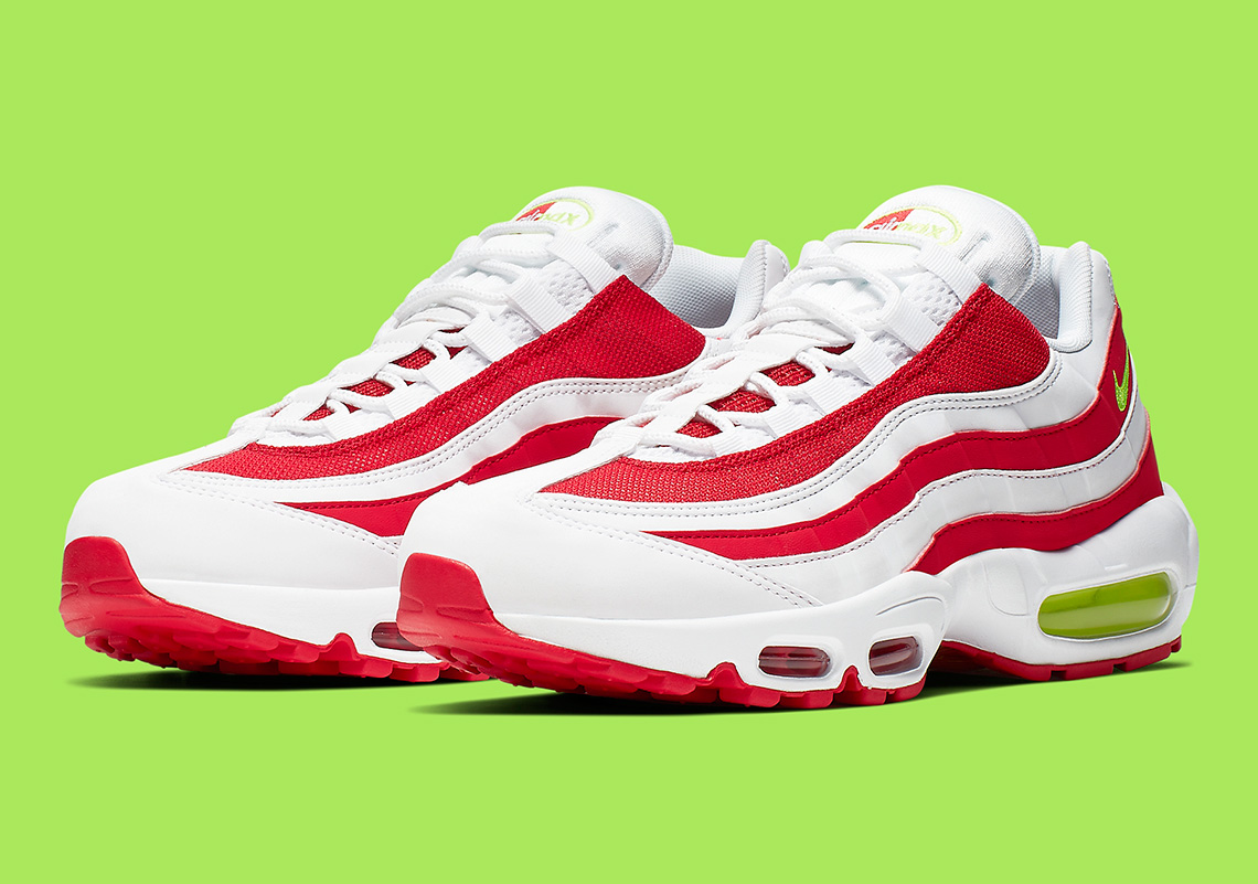 Nike Air Max 95 Red White CQ3644,171 Release Info
