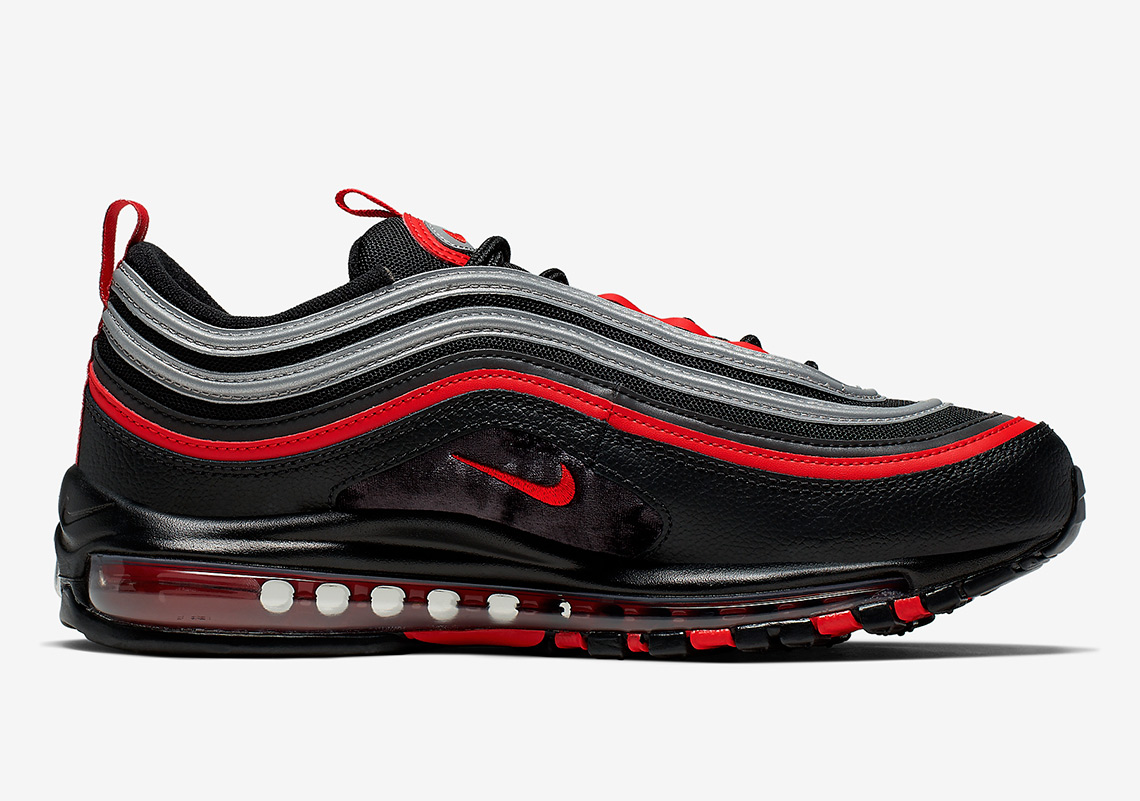 Nike Air Max 97 OG Women Metallic SilverVaristy RedWhite