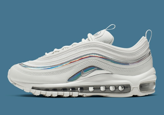 The Nike Air Max 97 Adds Iridescent Track Stripes
