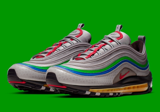 Is This Nike Air Max 97 Inspired By The Nintendo 64 Game Console?