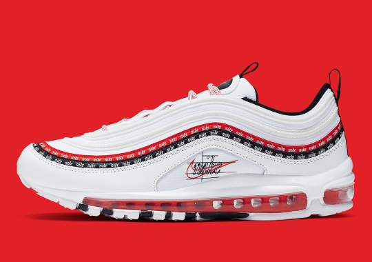 An Early Nike Logo Sketch Appears On The Air Max 97