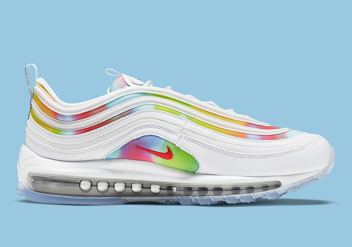 premium selection a44a6 7fb3b This Color-Blotted Nike Air Max 97 Is Inspired By Chicago ...