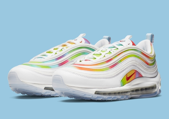 This Color-Blotted Nike Air Max 97 Is Inspired By Chicago