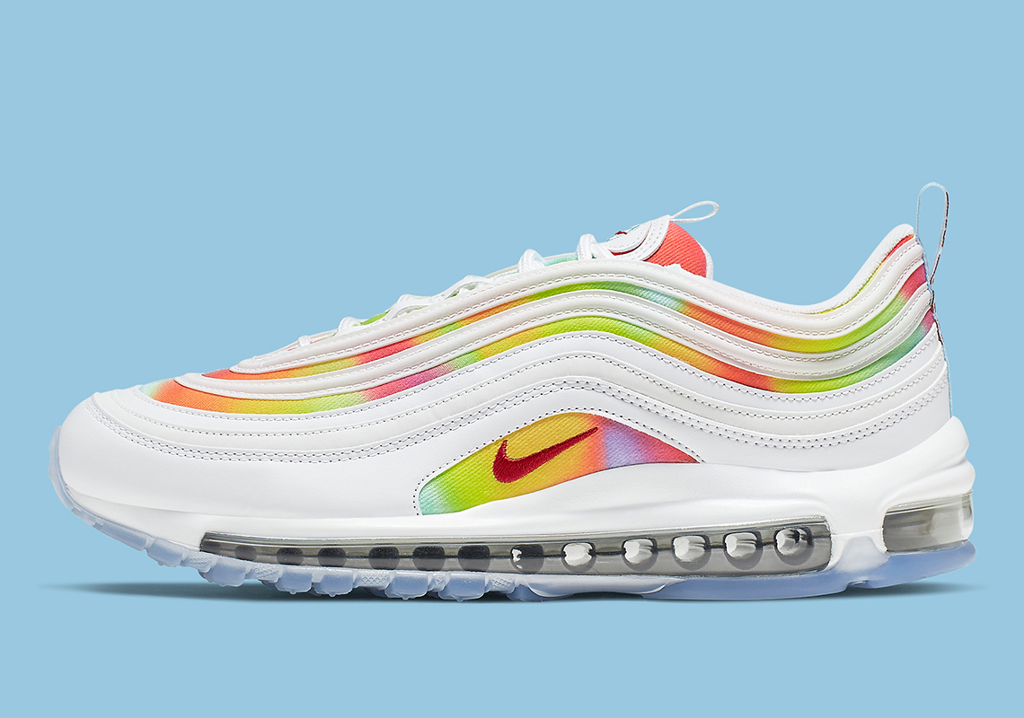 factory authentic 916f6 78a15 Nike Air Max 97 Tie Dye Chicago CK0839-100 Release Info ...