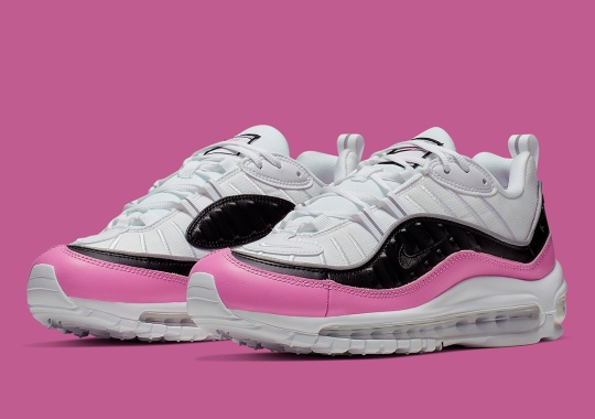 "The Nike Air Max 98 SE Has Released In ""China Rose"""