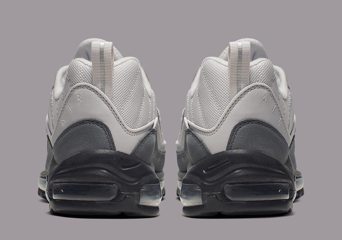 air max 98 on feet black