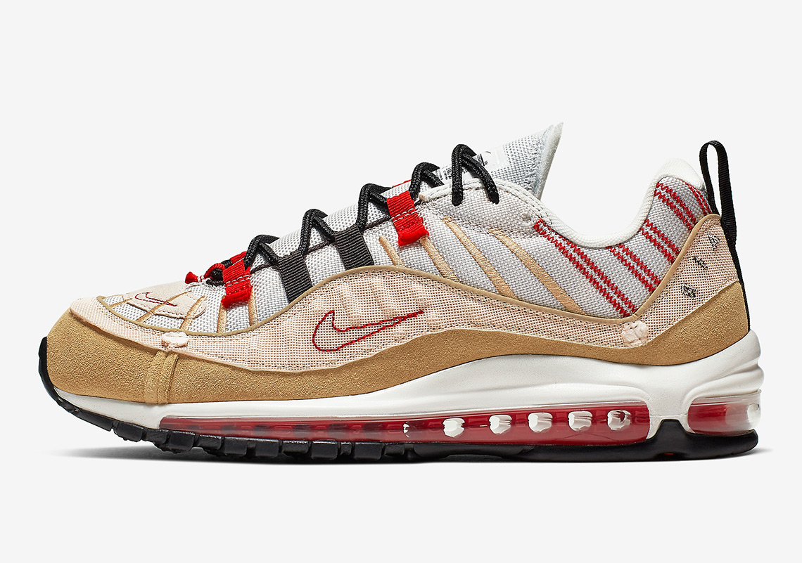 Nike Air Max 98 Gets Another Inside Out Colorway: Official