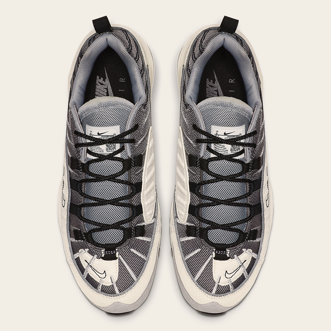 """Nike Air Max 98 Gets Its Own """"Inside Out"""" Version: Official s"""