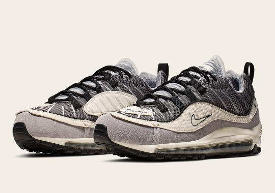"The Nike Air Max 98 Goes ""Inside Out"""